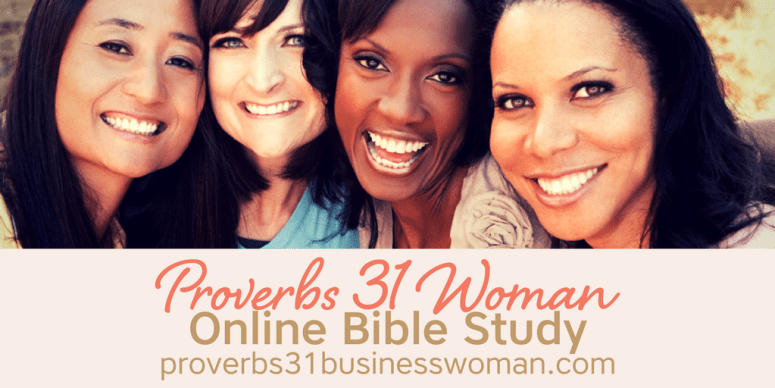 Proverbs 31 Online Bible Study