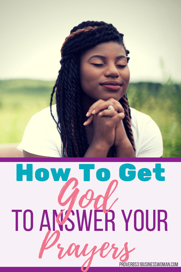 Praying Woman Bible Study | Ever wanted to know how to get God to answer your prayers? Today's bible study lesson covers that as well as what is prayer, the meaning of prayer, the purpose of prayer and more! Join us for an in-depth Bible Study on how to pray effective prayers! Grab your printable companion workbook after you join! #proverbs31businesswoman #prayer #prayingwoman #biblestudy #christianblogger #jesusgirl