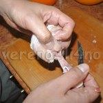 Как вытащить косточку из куриной голени