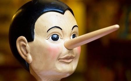 Le mensonge