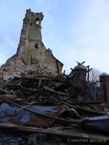 Église en ruines