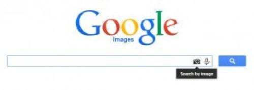 Кликнете на иконата со фотоапарат за обратно пребарување слики.