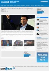 """[Recension: """"Zaev nuk e ndërron Kushtetutën, kot votuan shqiptarët për LSDM-në""""]"""
