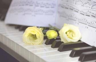 ピアノ 楽譜 お花