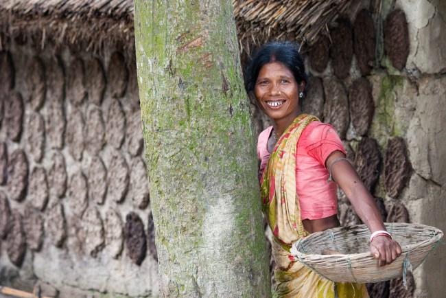 バングラデシュ 女性 笑顔