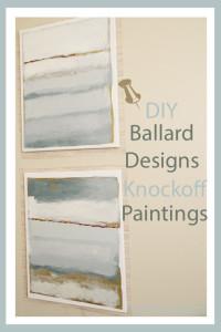 DIY Knockoff Paintings