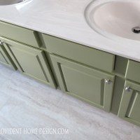How to Paint a Bathroom Vanity like a Professional