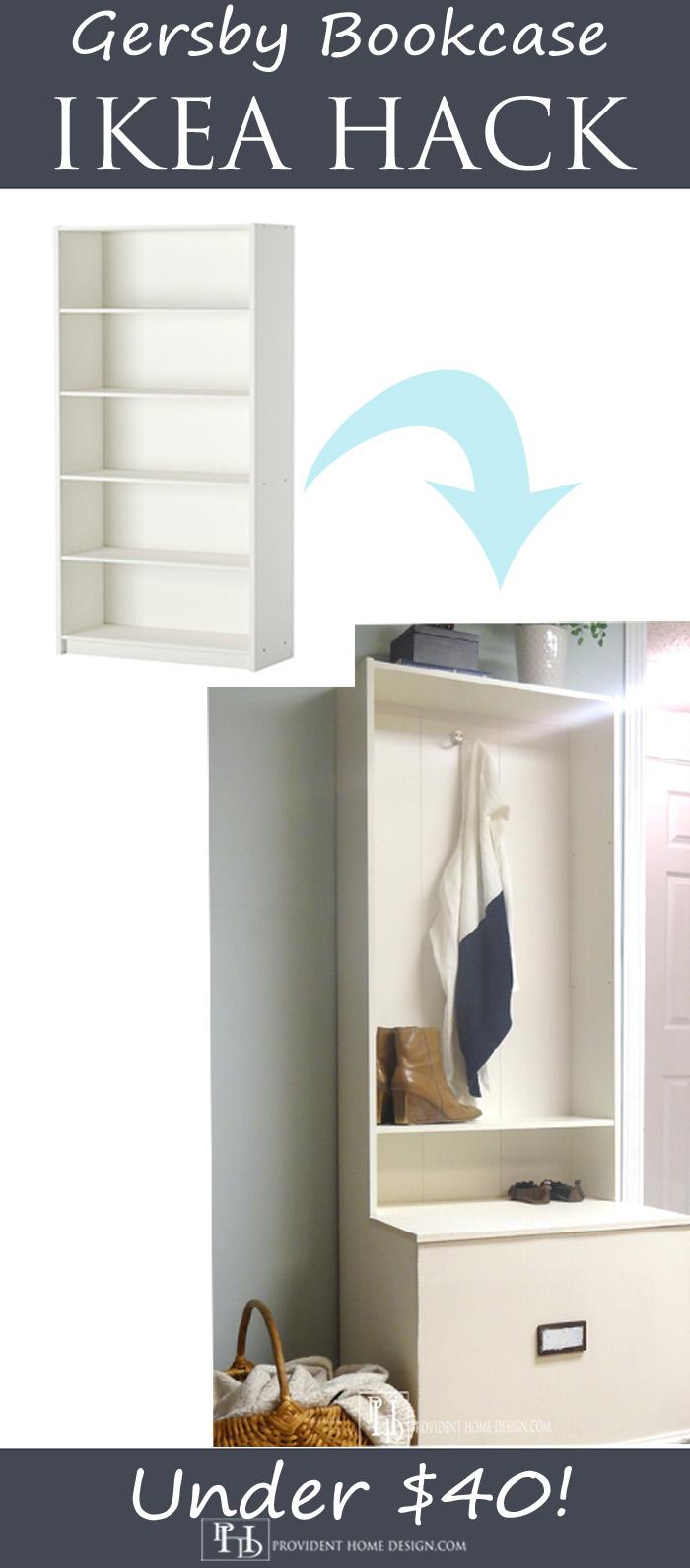 Gersby Bookcase Ikea Hack