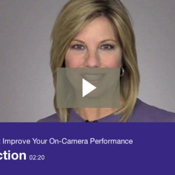 Improve Your On-Camera Performance!