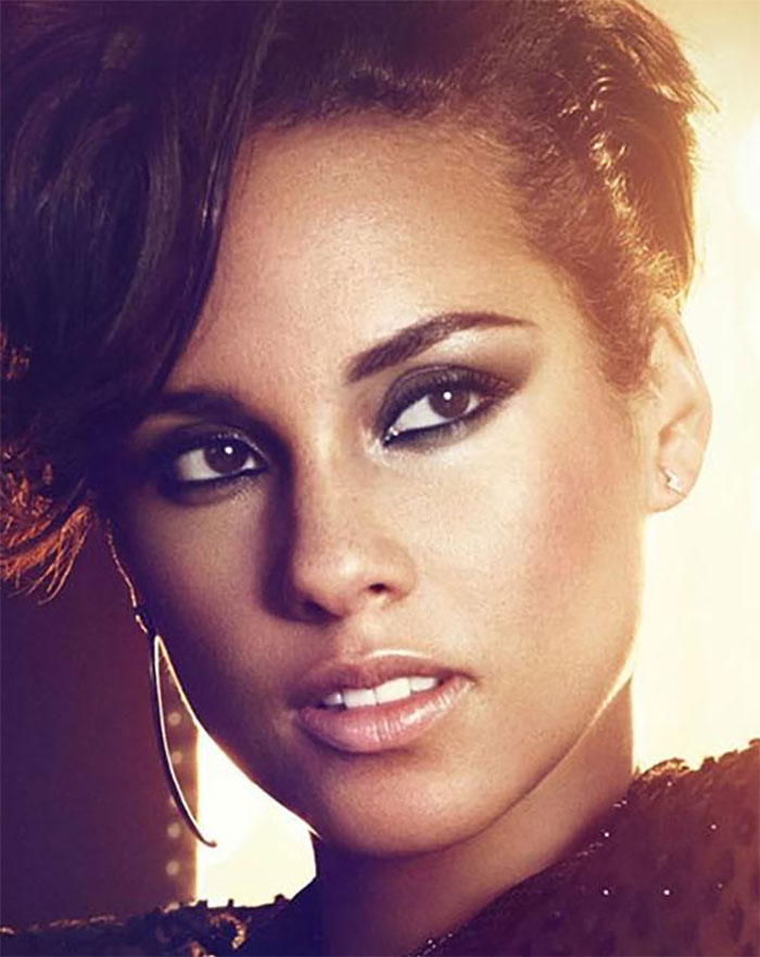 Image result for alicia keys makeup