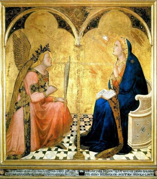 lorenzetti, annunciation (1344)