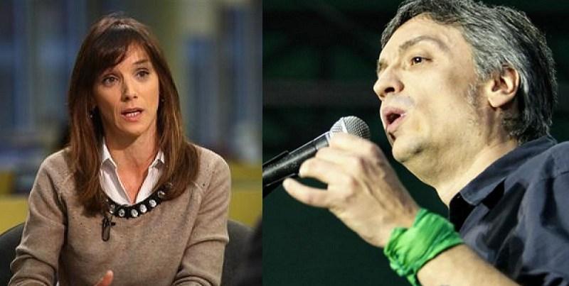 Máximo respalda a Malena Massa en la pelea por la presidencia de la Cámara de Diputados