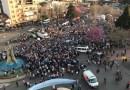 #SiSePuede en Junín: poca gente, que ademas llego en colectivos