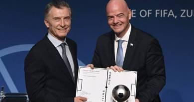 Macri presidente:La AFA se suma al repudio del Fútbol Argentino