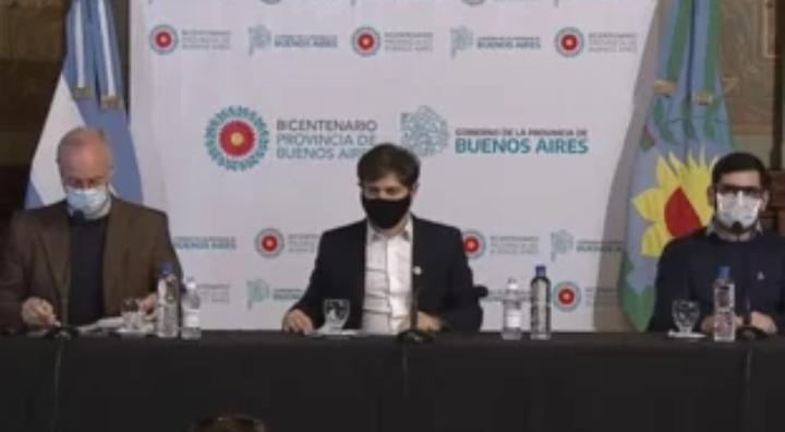 En vivo: Conferencia de prensa de Axel Kicillof y Daniel Gollán