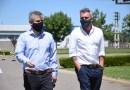 Britos anunció apertura de una importante fábrica en el Parque Industrial de Chivilcoy