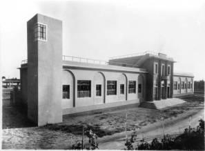 sede della nettezza urbana a Prato negli anni '30 (oggi sede llea Misericordia in via Galcianese)