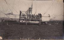 la navicella dell'M6 -Collaudo dirigibile M6- 8 giugno 1916- archivio Osti