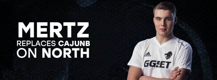 Official: North bench cajunb, promote mertz from Academy