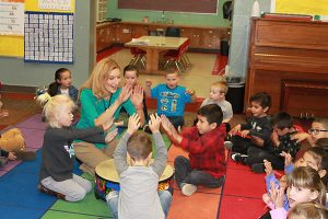 provost kindergarten students