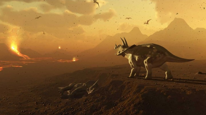 A emergência climática causada pelo homem é pior do que o asteroide que aniquilou os dinossauros
