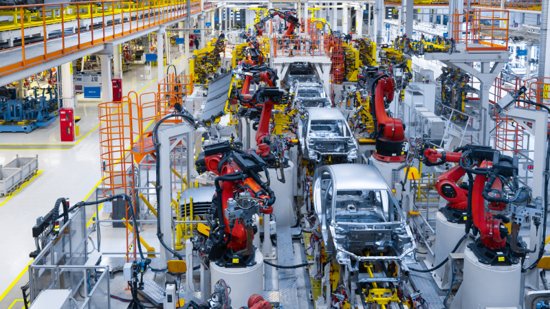 without customers, there won't be any industrial manufacturing