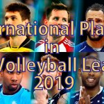 International Players in PVL 2019