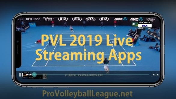 Live streaming PVL 2019 matches links and apps