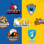 Pro volleyball teams social media accounts