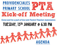 Come along to our first PTA meeting of 2015 — Provo Primary