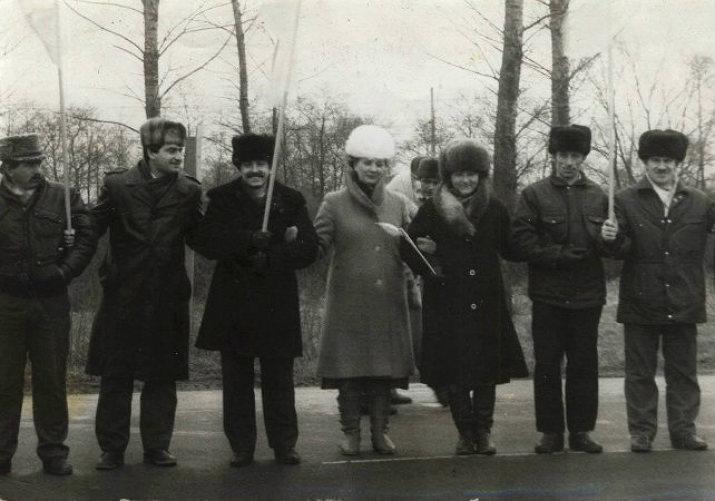 Виповнилося 25 років «живому ланцюгу» між Львовом та Києвом до Дня Соборності