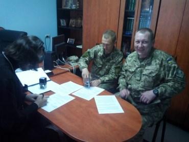 Українська церква та військо на Тернопільщині плідно співпрацюють