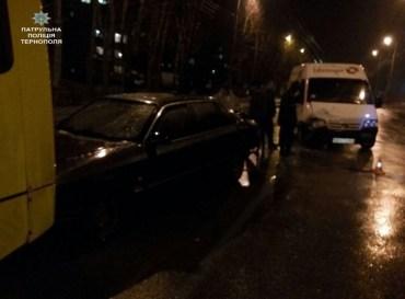 Нетверезий водій скоїв подвійне ДТП в Тернополі