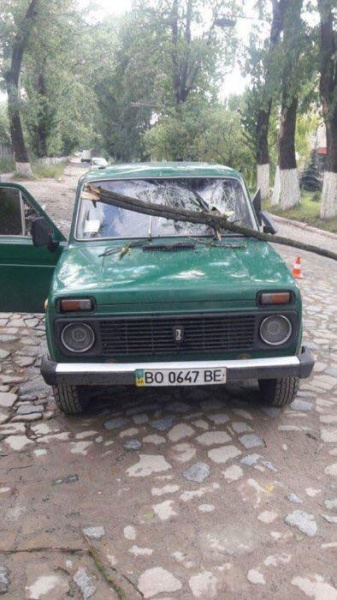 Наслідки негоди на Тернопільщині вражають