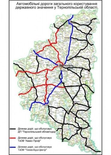 Автомайдан на Тернопільщині проводить моніторинг доріг