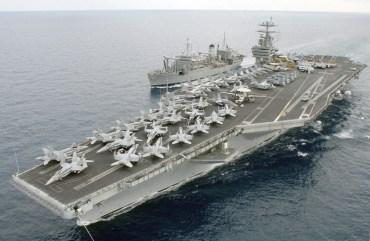 У Середземне море увійшла ударна група кораблів ВМС США
