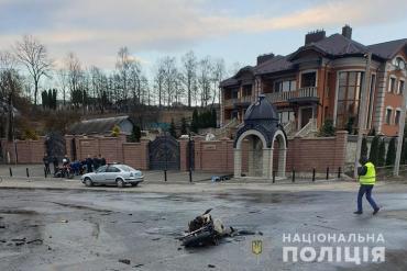 9 березня в селі Чистилів Тернопільського району не розминулися вантажівка та мотоцикліст