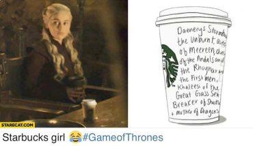 """В результаті факапу в четвертій серії 8 сезону """"Гри престолів"""" мережа кав'ярень Starbucks отримала безкоштовну рекламу на 2,3 мільярди доларів"""