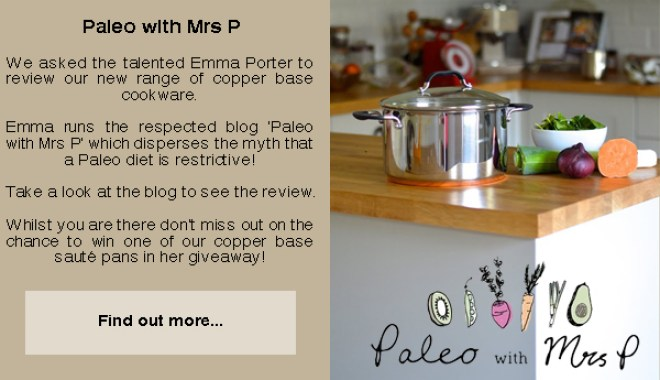 Paleo with Mrs P Review Copper Base