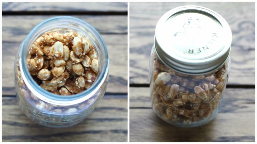 Caramelised Sesame Peanuts 2