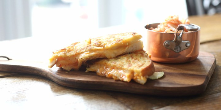 Image of ProWare's Kimchi and Apple Grilled Cheese