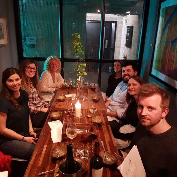 ProWare Team at Jöror Restaurant Sheffield