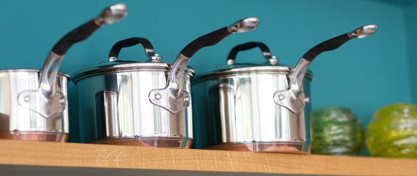 ProWare Copper Base Pans