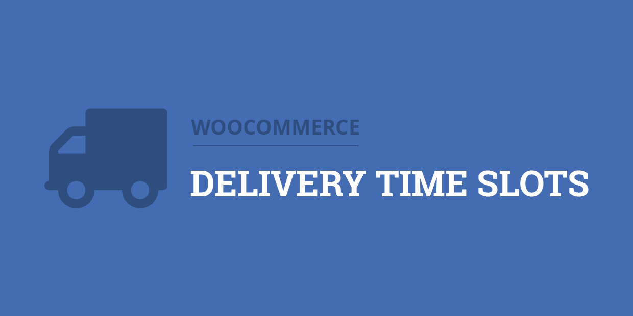 WooCommerce Delivery Time Slots - Admin Screenshot