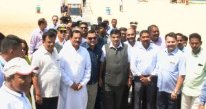 The Union Minister for Road Transport & Highways, Shipping and Water Resources, River Development & Ganga Rejuvenation, Nitin Gadkari at the inauguration of the Inland Ferry Services, in Goa on March 20, 2018.