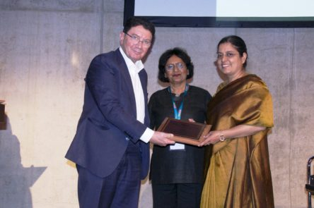 "Ravneet Kaur conferred ISAW Women Achiever Award' for ""Professionalism in Management"" @ ITB Berlin2019"
