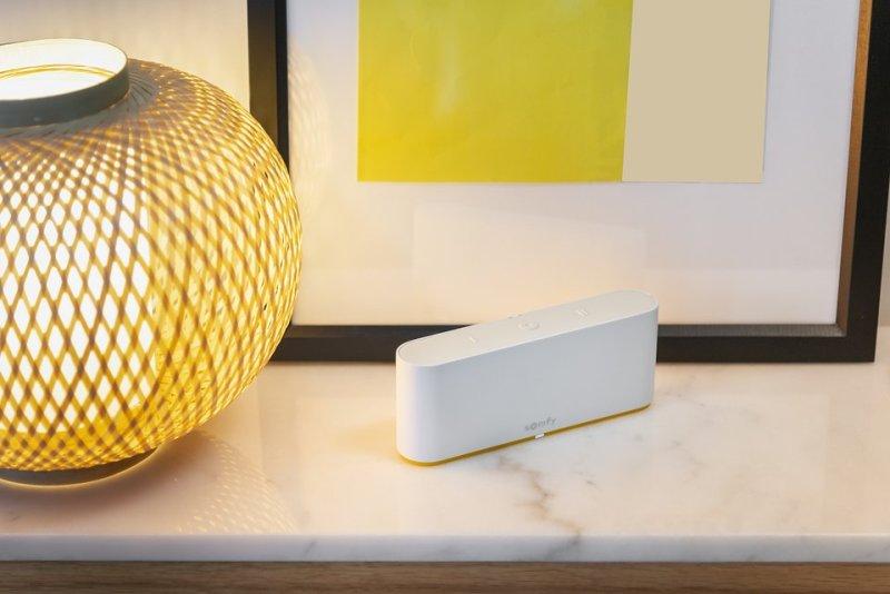 Niewielki rozmiar i minimalistyczny wygląd sprawiają, że TaHoma switch pasuje do każdego wnętrza