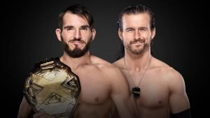 Johnny TakeOver defends the NXT World Championship at TakeOver: XXV