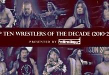 top ten wrestlers decade