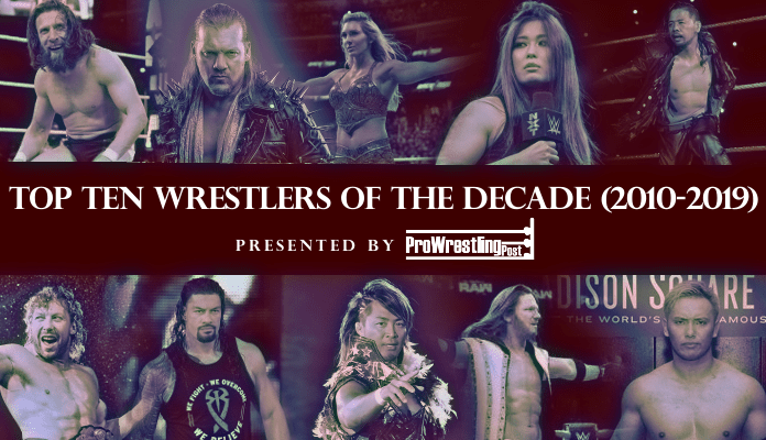top ten wrestlers decade